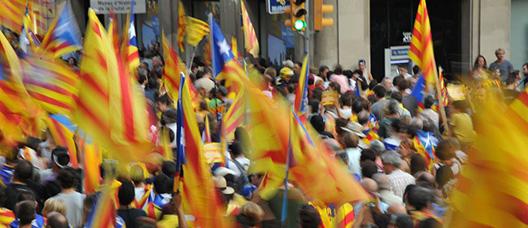 Manifestació de la Diada a Barcelona