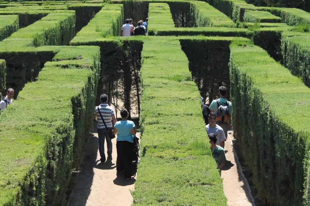 Los pulmones de barcelona la meva barcelona for Parques y jardines de barcelona