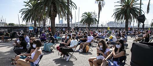 Concert a l'aire lliure