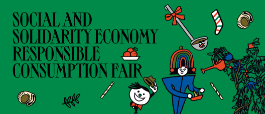 Campaign banner: Social and Solidarity Economy Responsible Consumption Fair