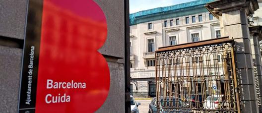 Barcelona Cuida Centre's façade