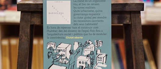 Cover of issue number 109 of the Barcelona Metròpolis magazine