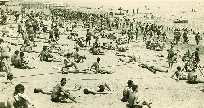 Platges de Barcelona antigues