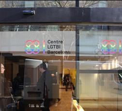 Barcelona LGBTI Centre's façade