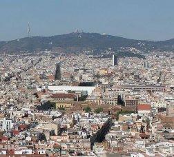 Vista panoràmica de Barcelona