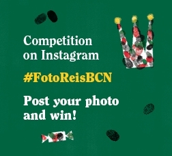 Competition on Instagram #FotoReisBCN. Post your photo and win!