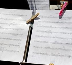 Partitura de música