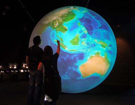 """Exposició """"Planeta Vida"""" del Museu Blau"""