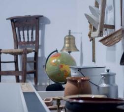 Detall d'una sala del museu