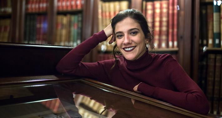Retrato de Eva Fernández