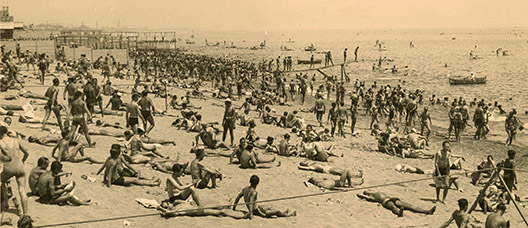 Historic beaches of Barcelona