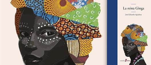 Portada del llibre La reina Ginga: y de como los africanos inventaron el mundo de José Eduardo Agualusa