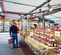 Mercado en la calle