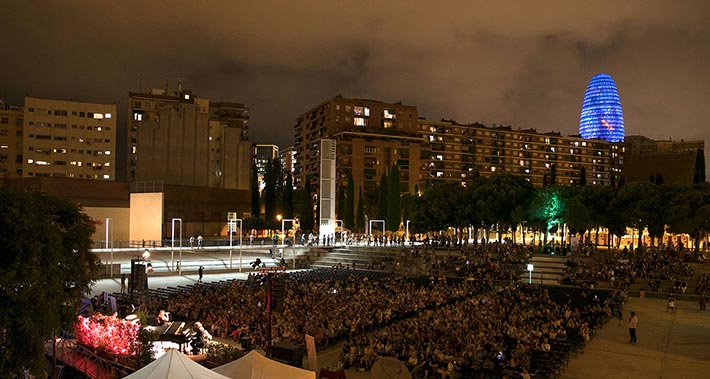 Grand finale concert to the 2018 edition of Music in the Parks, at the Parc del Clot