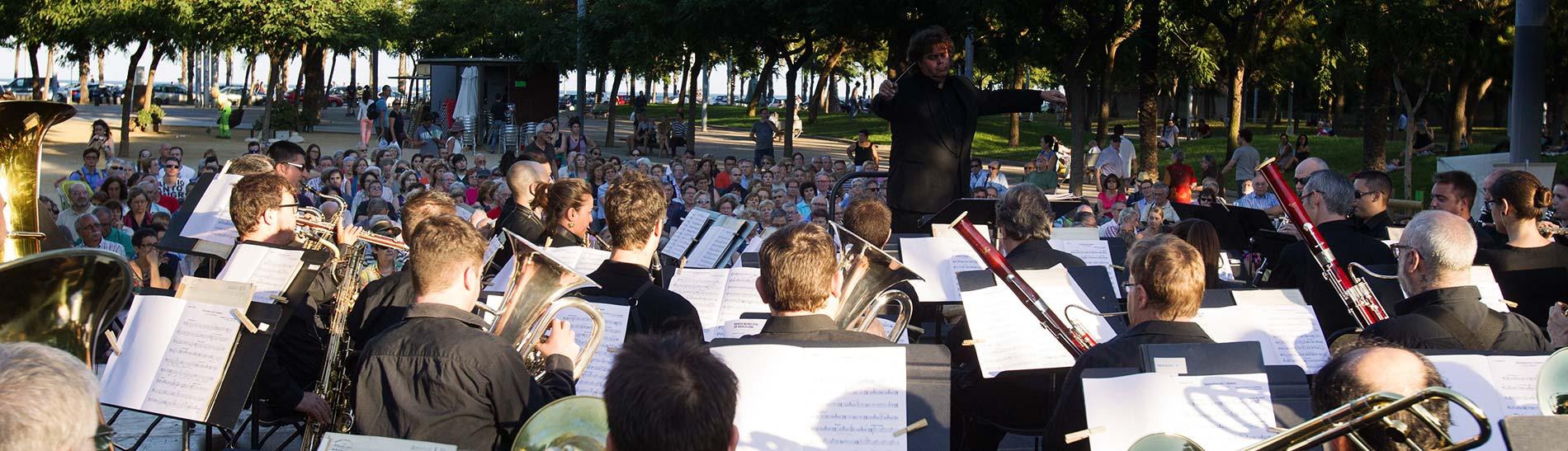 Concert en un parc