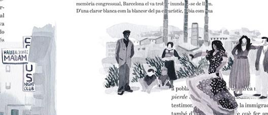 Illustration by Carlos Murillo and Pau Gasol