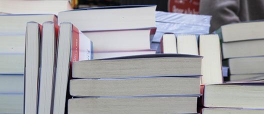 Pilas de libros
