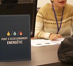 Energy-advice points